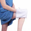Gant de toilette microfibre exfoliant - 2 pcs