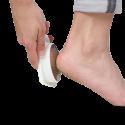Boites pédicure forme pied blanc 12 x 5.5 x 4 cm - Lot de 3