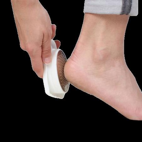 Boites pédicure forme pied blanc 12 x 5.5 x 4 cm