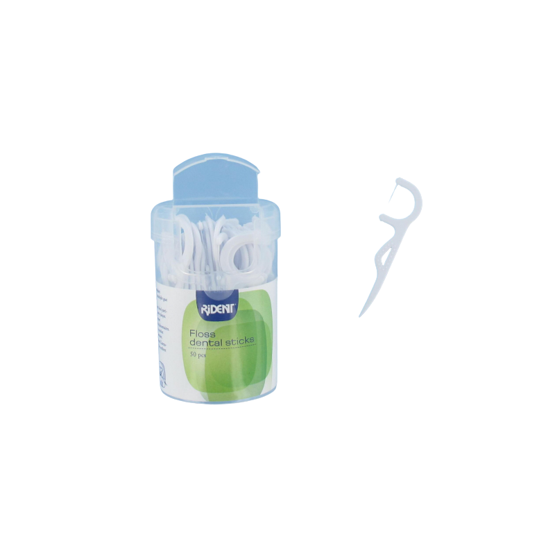 50 cure-dents avec fil dentaire - lot x2