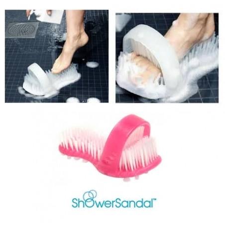 Sandale de douche Rose