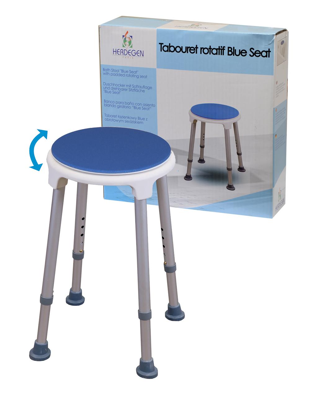 tabouret de douche blue seat