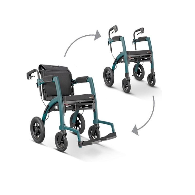 Déambulateur et fauteuil roulant Rollz Motion Performance