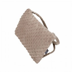 Coussin à bretelles avec bouillotte intégrée