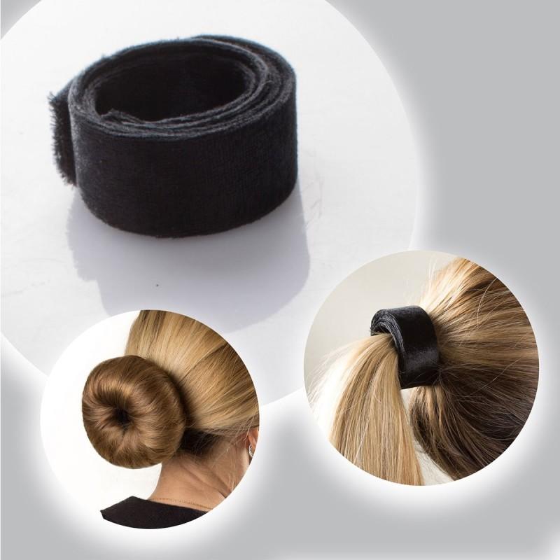 Attache cheveux enroulée
