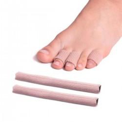 Tube protege-orteil 15cm - Lot de 2
