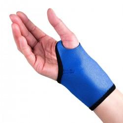 Attelle poignet magnétique bleue