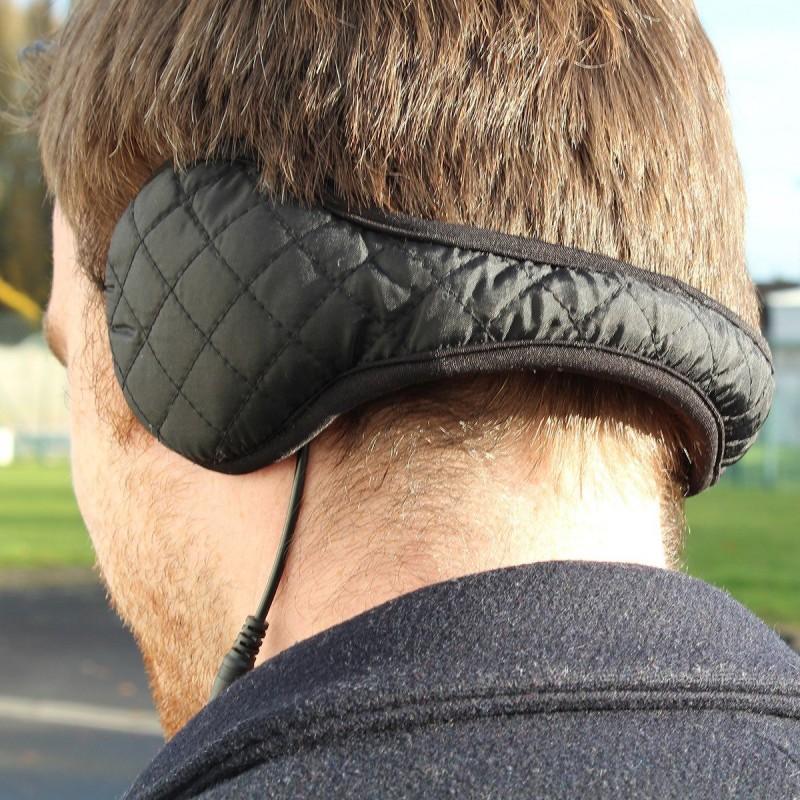 Cache oreille chauffant avec batterie