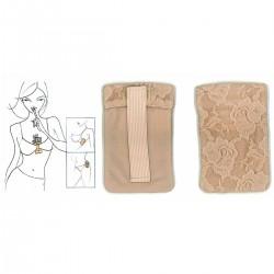 Pochette sécurité soutien-gorge en dentelle