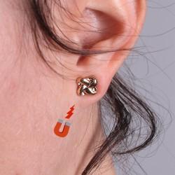 Paire de boucles d'oreilles aimantées - Lot de 3