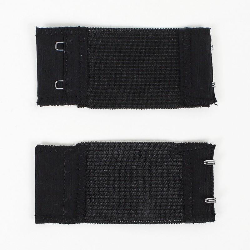 Extensions de soutien-gorge noir par 8