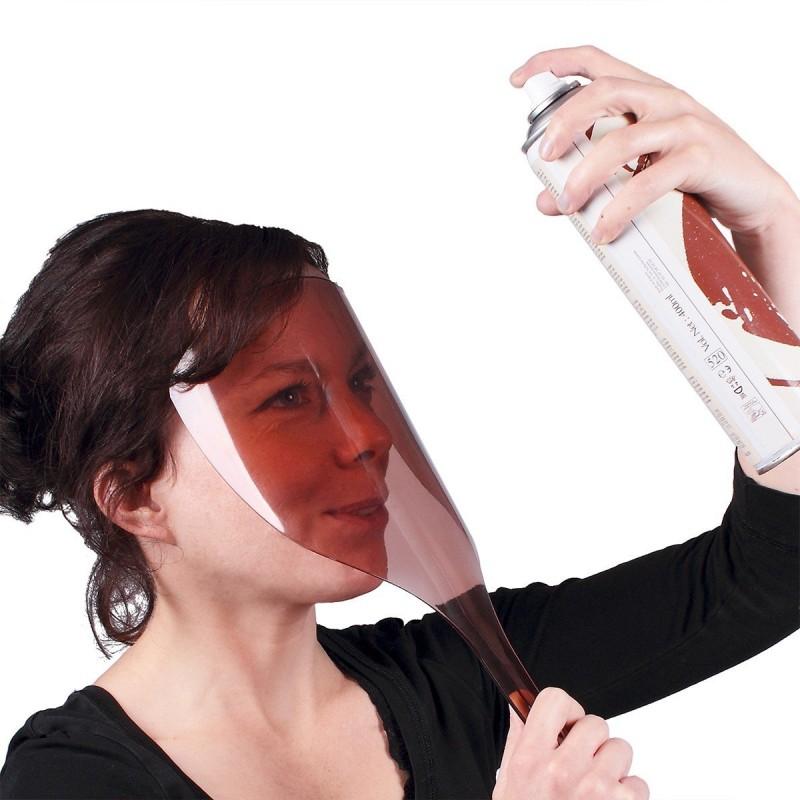 Masque anti-projection laque cheveux