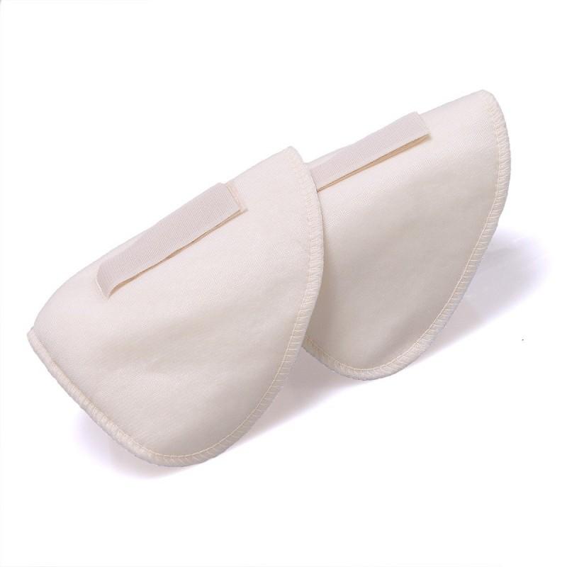 Coussin spéciaux soutien-gorge blanc mousse 12 x 17 cm - Lot de 4
