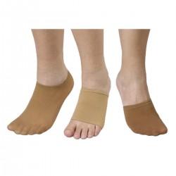Paire couvre-pieds chair polyamide 9.5 x 9 cm - Lot de 3