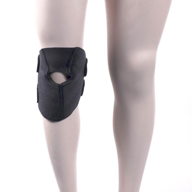 Support articulation 3 en 1 avec poche gel noir néoprène 30 x 19 cm