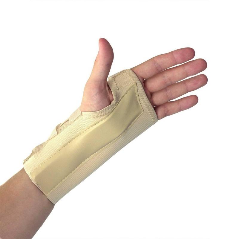 Maintien poignet main gauche chair 19.5 x 11.5 cm