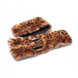 Écharpe imprimée léopard