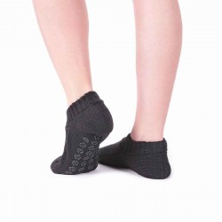 Chaussons antidérapants noirs