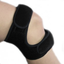 Genouillère double action pour soutien tendon
