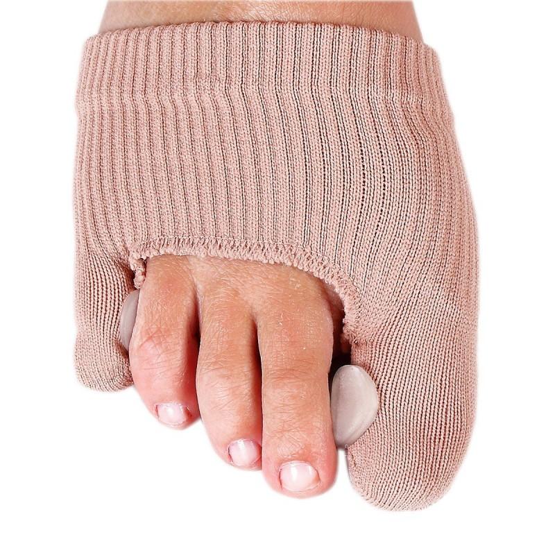 Protège doigts de pieds avec gel chair 11 x 8.3 x 0.2 cm