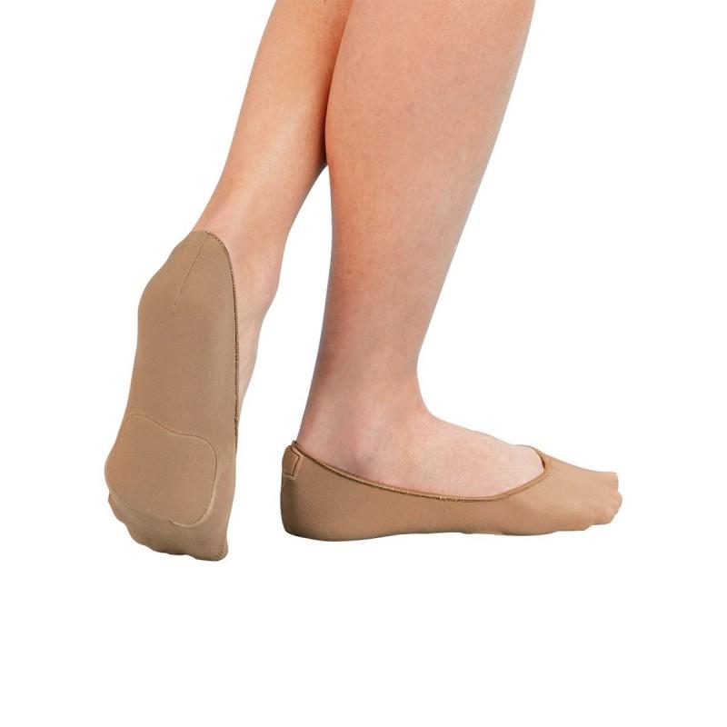 Paire de protège-bas avec coussinets chair polyamide 24 x 8 x 5 cm - Lot de 2