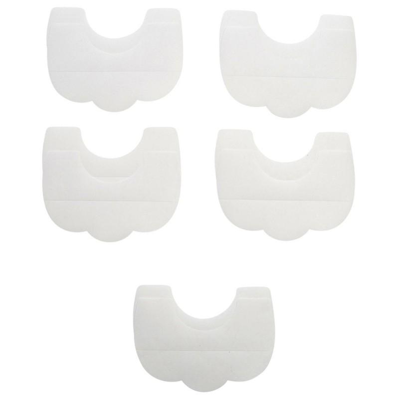 Paire de remonte buste blanc polyuréthane 11.5 x 8 cm - Lot de 5