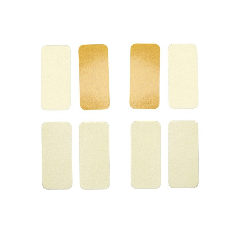 Stickers huiles essentielles (camphre/eucalyptus) cellulose 5.5 x 2.5cm - Lot de 8