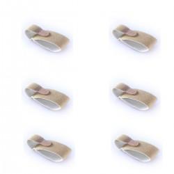 Bandeau redresse orteils - Lot de 6