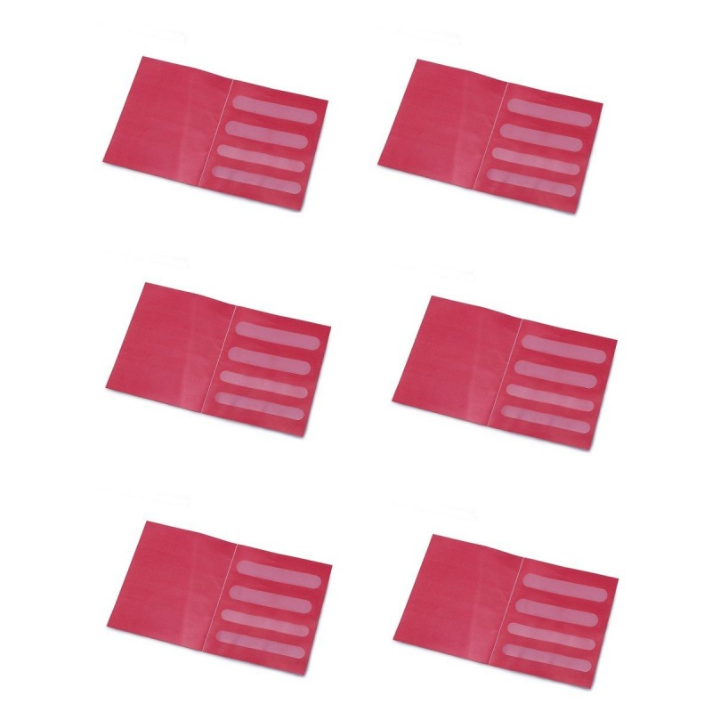 Antiglisse pour bretelles de soutien gorge - lot de 6 paires