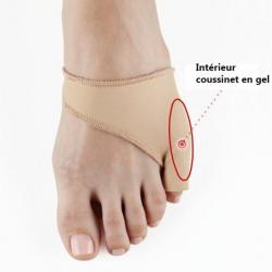 Protection petit orteil avec coussinet gel