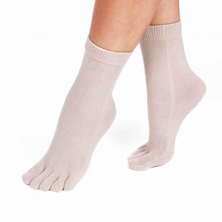 Chaussettes avec doigts femme