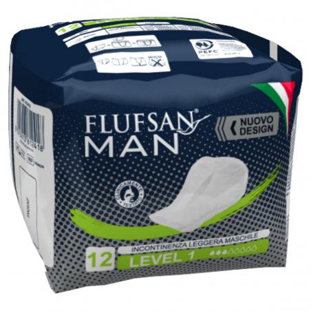 Serviettes incontinence homme - 12 pcs