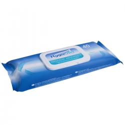 40 lingettes spéciales incontinence