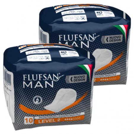 Serviette incontinence homme - 20pcs