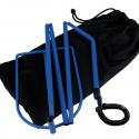 Support de tuyau pour système PPC/CPAP
