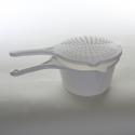Casserole micro-ondes + couvercle passoire