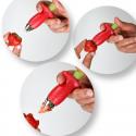 Equeuteur de fraises et tomates