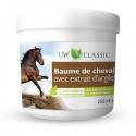 Baume de cheval avec extrait d'argile + 4 herbes médicinales - 250 ml