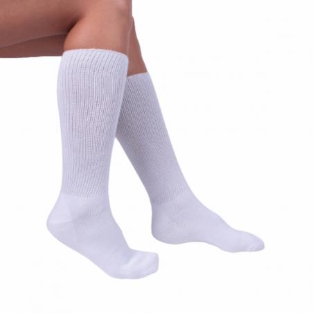 Chaussettes talon gel pour pieds sensibles