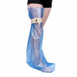 Protection de plâtre étanche pour jambe