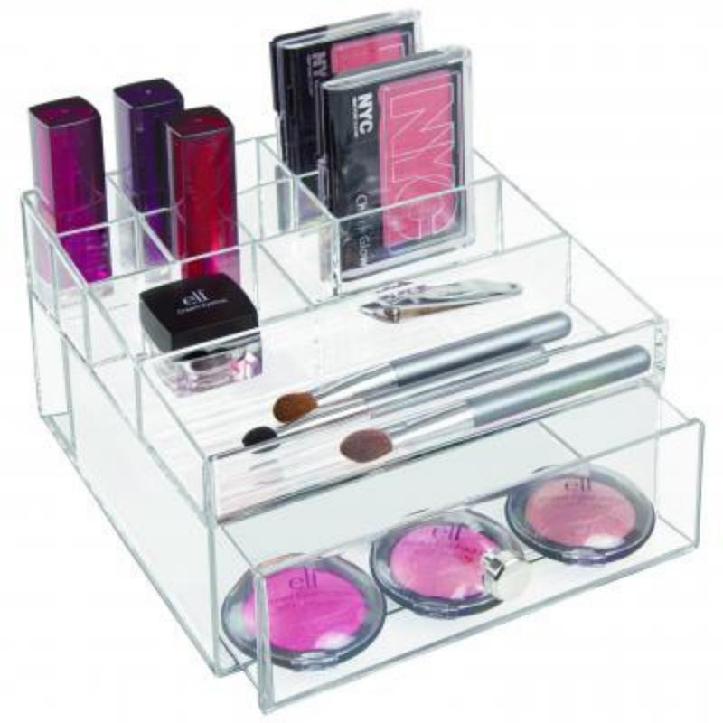 Boîte de rangement pour cosmétiques