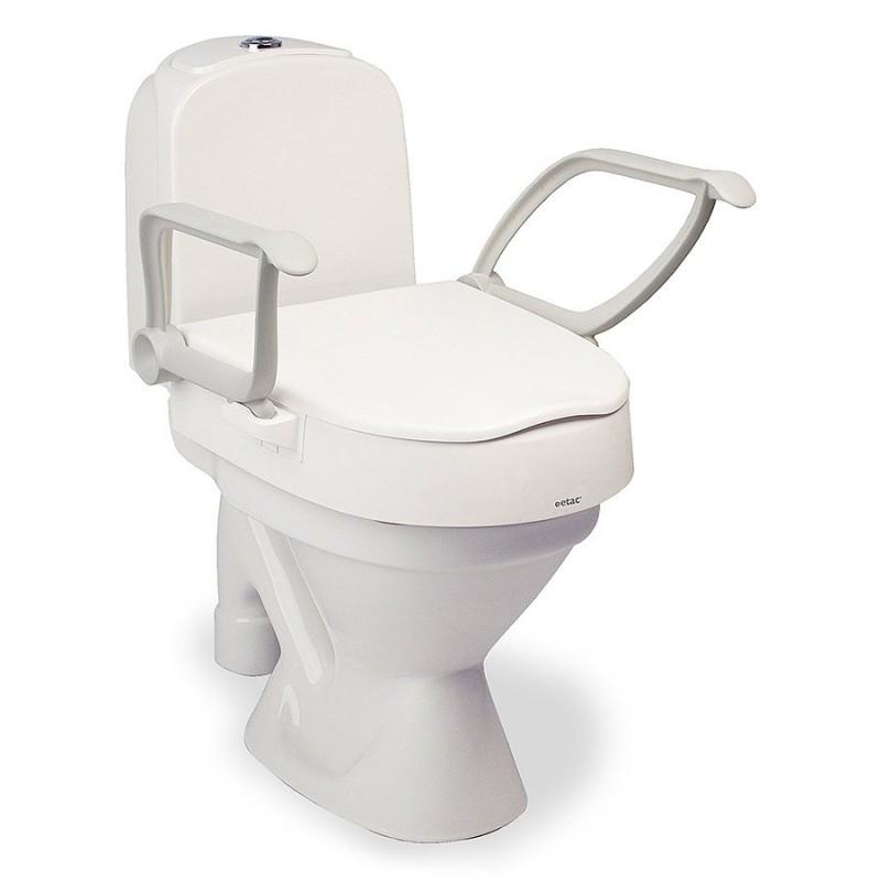 Rehausseur de toilettes réglable
