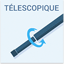 Canne telescopique